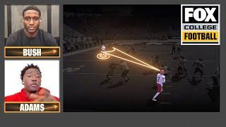 Reggie Bush, Jonathan Adams break down performance vs K-State | Playmaker of the Week | CFB ON FOX