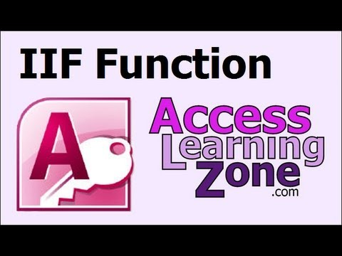 Microsoft Access IIF Function (IF/Then)