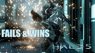 HALO 5 FAILS & WINS #13 (Best Halo 5 Guardians Funny Moments Compilation)