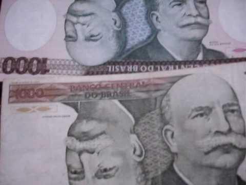 cedula rara 1000 cruzeiro cabeçao asterisco foi arrematada por 4 mil reais