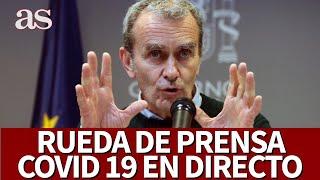 EN DIRECTO | Rueda de prensa CORONAVIRUS|  Diario AS