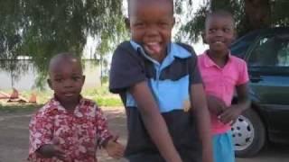 Dancing Kids in Tugela Ferry, South Africa