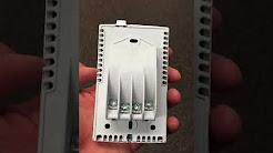 NUHEAT Floor Heating | Thermostat Installation