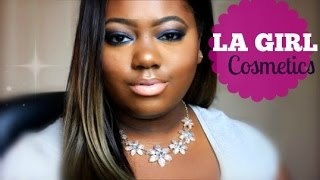Chit Chat GRWM Ft. L.A. Girl Cosmetics Smokey Beauty Brick + Orange Concealer! Deep Blue Smokey Eye