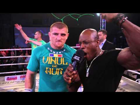 SUPERKOMBAT® World Grand Prix (Ploiesti): Catalin Morosanu Post-Fight Interview