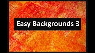 Easy Backgrounds #3