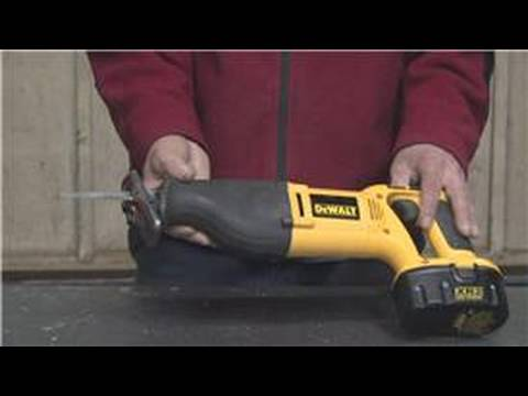 Carpentry & Saws : What Is a Reciprocating Saw Used For?