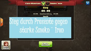 Clash of Clans CW Log: Clash-Warriors vs Smokn' Iron