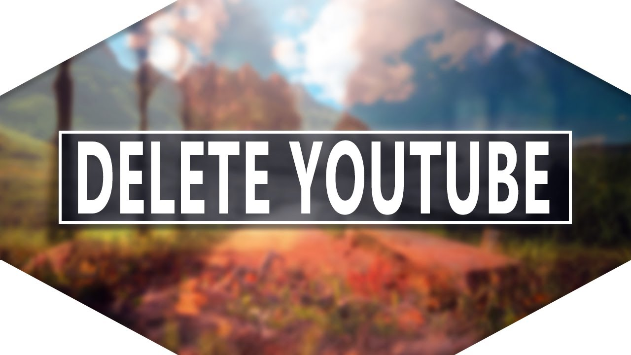 How To Delete Youtube Account On Iphone! [2016] Deleting Youtube Channel!