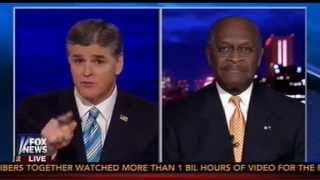 Hannity, Herman Cain Rail Against