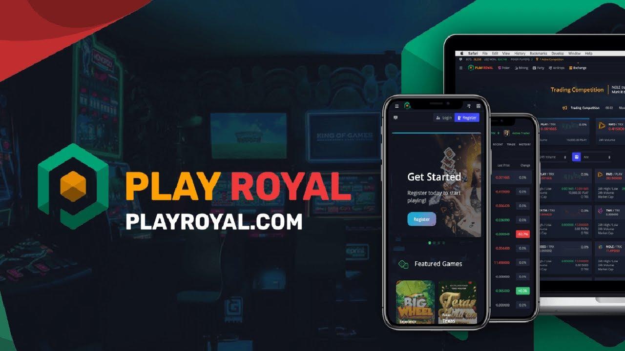 Playroyal.com cryptocurrency gambling. Как заработать криптовалюту на крипто казино . Trc20 token 8