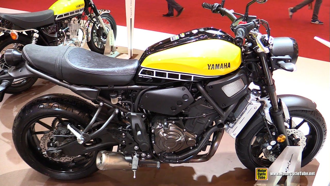 2016 yamaha xsr700 abs 60th anniversary walkaround. Black Bedroom Furniture Sets. Home Design Ideas