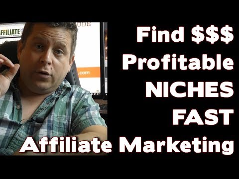 How To Find $1,000 – $10,000 + Niches For Affiliate Marketing / Niche Marketing Explained