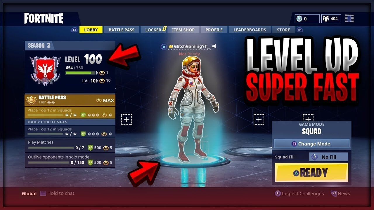 Fastest Way To Level Up In Fortnite Battle Royale Season 3