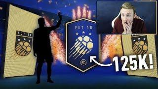 MEGA PACZKI TOTY ZA 125K Z WALKOUTAMI! FIFA 18