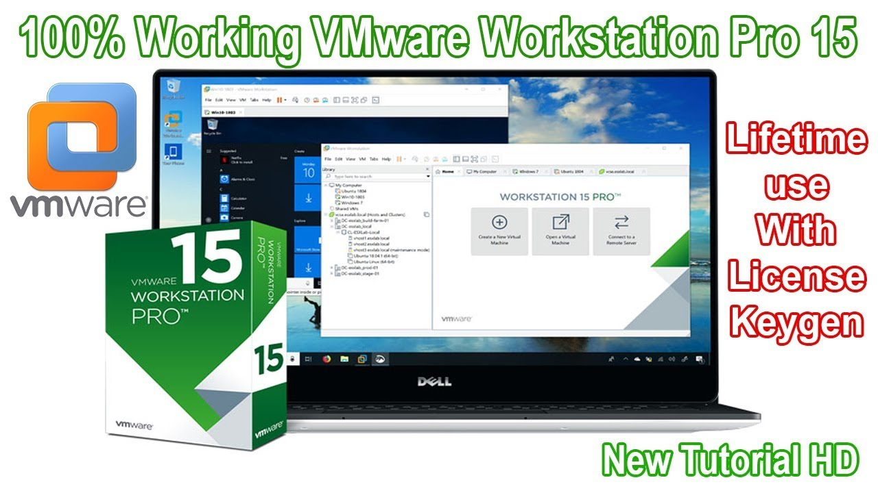 #VMware Workstation 15 Pro And License Keygen 100% working #Virtual Machine  vmware license key #vm