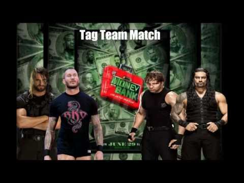 Money in the Bank 2014 Matchcard Prediction