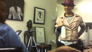Natural Hair Care Training: Ehon Salon...Webcam video from January 15, 2013 11:56 AM