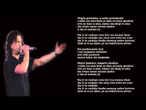 Aca Lukas - Da podnesem bol - (Audio 2008)
