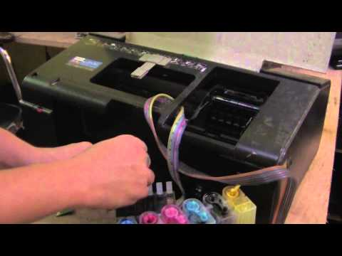 Epson T60 Replacing Ink System Chipset