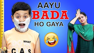AAYU BADA HO GAYA | Moral Story for kids in Hindi #GoodHabits | Aayu and Pihu Show