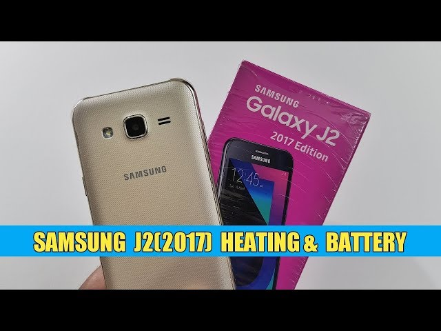 Samsung J2 (2017) Heating & Battery Test | TechTag!!