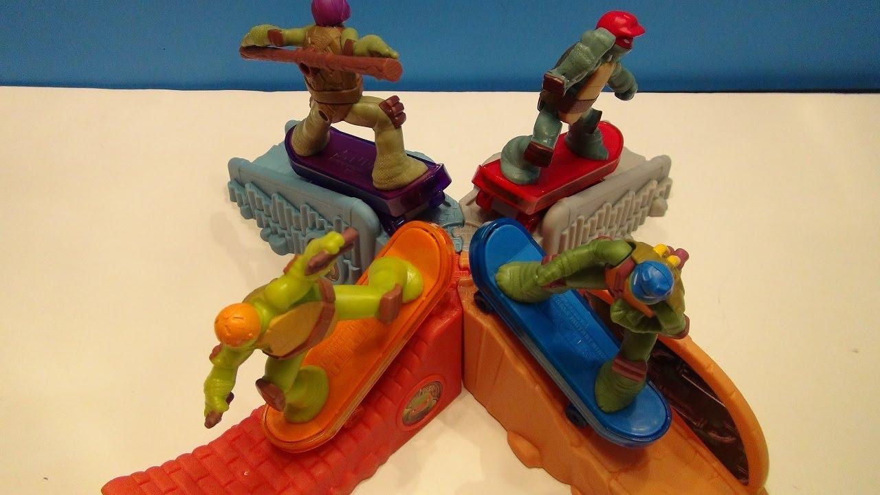 Mcdonalds Happy Meal 2013 Teenage Mutant Ninja Turtle Toys