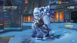 Overwatch: All Christmas Skins, Highlight Intros, Emotes, Victory Poses and Voice lines