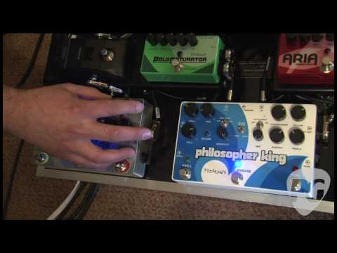 NY Amp Show '10 - Pigtronix Philosopher King Demo