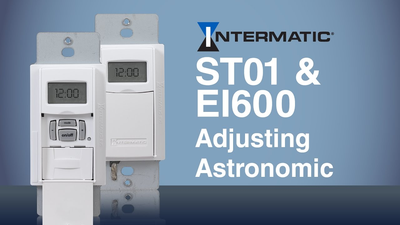 adjusting the astronomic feature for the st01 ei600 programmable timers intermatic [ 1280 x 720 Pixel ]