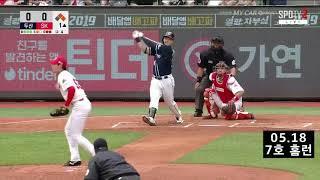 오재일 홈런 모음 2019시즌 (1~10호 홈런)