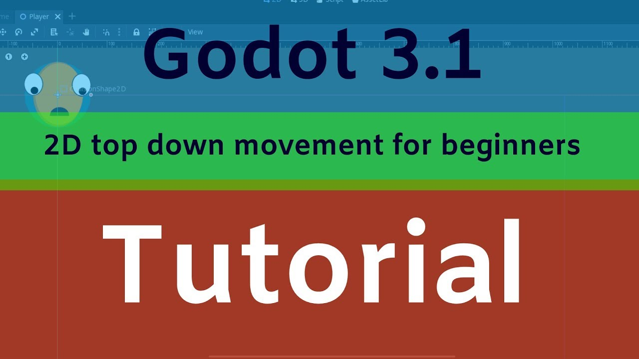 Godot 2D top down movement tutorial - Generalist Programmer
