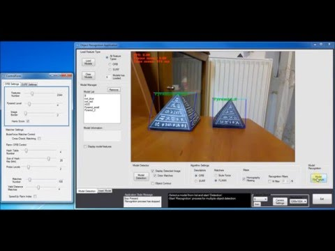 Object Recognition OpenCV feature detection - matching
