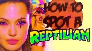 Shapeshifting Reptilian Eyes Explained