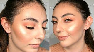 Peach Monochromatic Spring Makeup | Nicolle ZM
