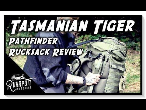 "Tools & Gear - Tasmanian Tiger ""Pathfinder"" - Rucksack Review"