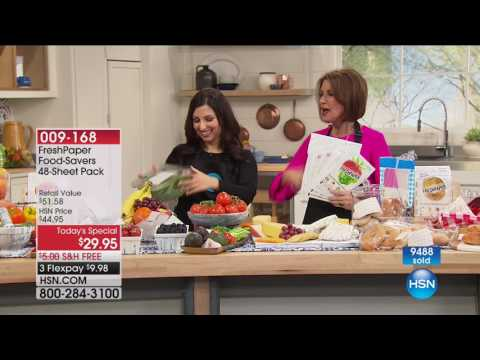 HSN | Kitchen Innovations featuring FreshPaper 08.07.2017 - 11 AM
