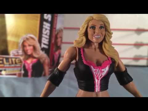 TRISH STRATUS WWE Elite Collection Series 24 Action Figure Review and Animation thumbnail