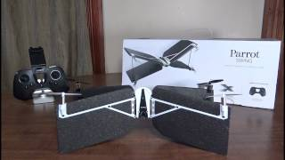 Parrot - Swing (VTOL/Quadcopter) - Review and Flight