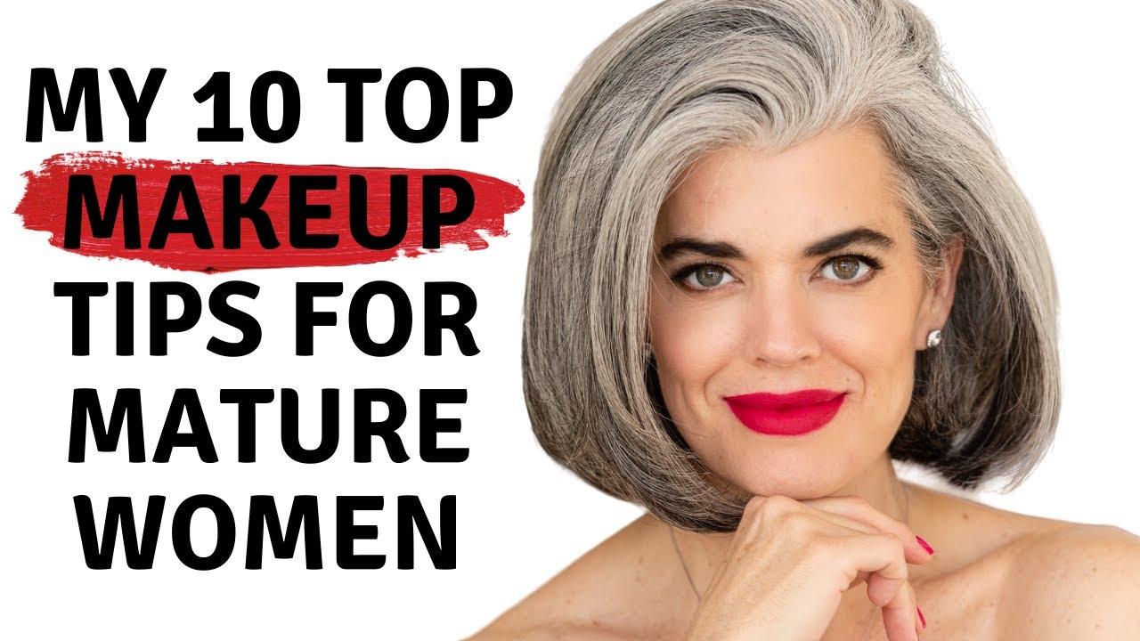 TOP 9 MAKEUP TIPS FOR MATURE WOMEN  Nikol Johnson