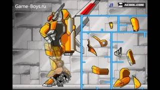 Видео игры собрать робота