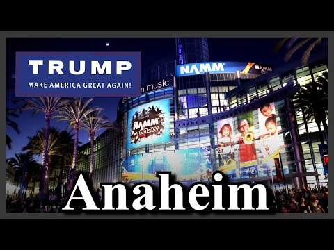 LIVE Donald Trump Rally at the Anaheim Convention Center Protesters MASSIVE in California FULL HD