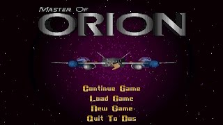 Master Of Orion (PC/DOS) 1993, MicroProse, SimTex, inc