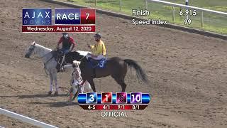 Ajax Downs August 12, 2020 Race 7