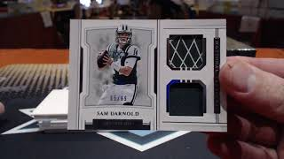 2018 Panini National Treasures Football 4 Box Case Break #2