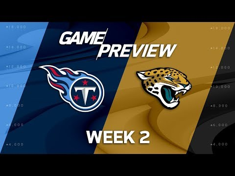 Tennessee Titans vs. Jacksonville Jaguars | Week 2 Game Preview | NFL Playbook