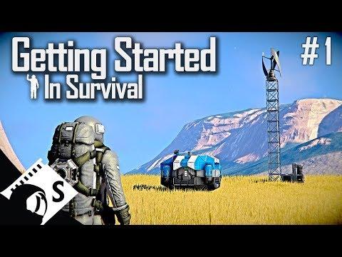 Space Engineers: Getting Started In Survival (Tutorial Series #1)