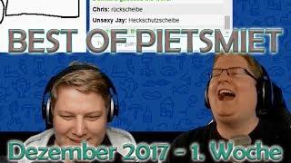 BEST OF PIETSMIET [FullHD|60fps] - Dezember 2017 - 1. Woche