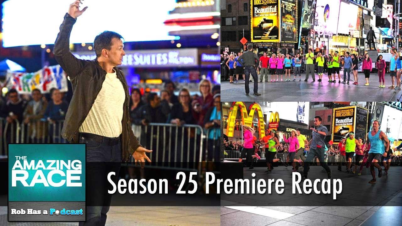 Amazing Race 2014: Season 25 Premiere Recap | Go Big or Go Home
