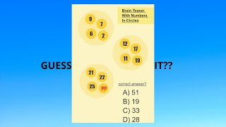 Test your Logic | 12 Visual Puzzles with Answers